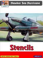 Hawker Sea Hurricane - Stencils