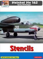 Heinkel He 162 Spatz - Stencils