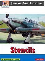 Hawker Sea Hurricane - Stencils