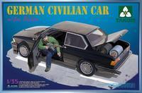 "German Civilian Car, figure & 4PCS ""Gas Rocket"""