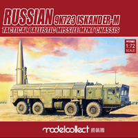 Russian 9K7232 Iskander-M Tactical Ballistic Missile MZKT Chassis