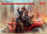 American Fire Truck Crew 1910s