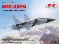 MIG-25PD Soviet Interceptor Fighter