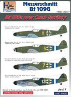 Messerschmitt BF 109 G - Bf 109s ver the Czech territoy part 1