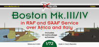 Boston MK.III/V in RAF and SAAF Sevice over Africa and Italy