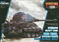 King Tiger (Porsche Turret)  World War Toons
