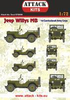 Jeep Willys MB 1st Czechoslovak Army Corps