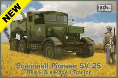 Scammell Pioneer SV/2S Heavy Breakdown Tractor - 1