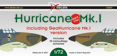 Hurricane Mk.I, decals - 1