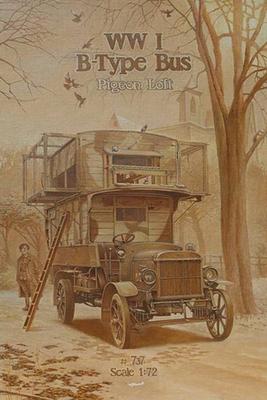 World War I Type B Bus Pigeon Loft