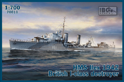 HMS Ilex 1942 British I-class destroyer