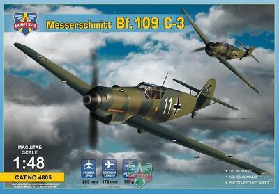 Messerschmitt Bf.109 C-3 - 1