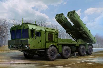 Russian 9A53 Uragan -1M MLRS (Tornado -S)