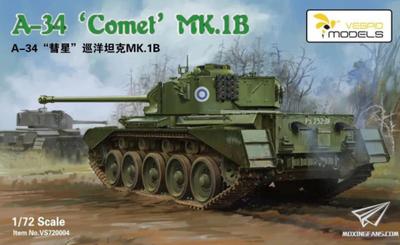 A-34 'Comet' MK.1Bk