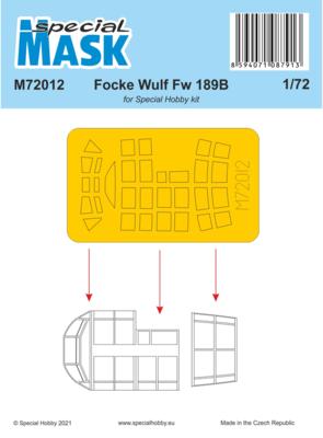 Focke Wulf Fw 189B Mask , mask