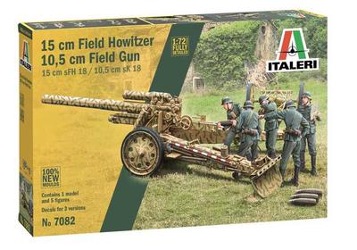 15 cm Field Howitzer / 10,5 cm Field Gun (1:72)