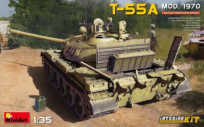 T-55A MOD. 1970 INTERIOR KIT - 1