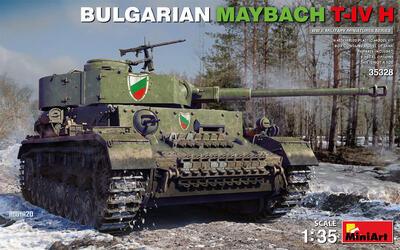 BULGARIAN MAYBACH T-IV H - 1
