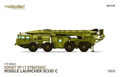 Soviet 9P117 Strategic Missile Luncher SCUD C  - 1