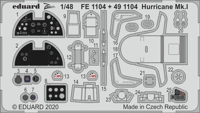 Hurricane Mk. I 1/48  lept