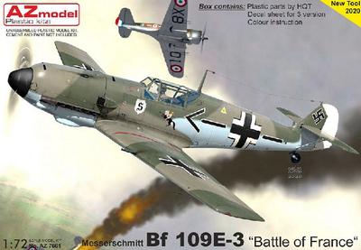 """Bf 109E-3 """"Battle of France"""""""