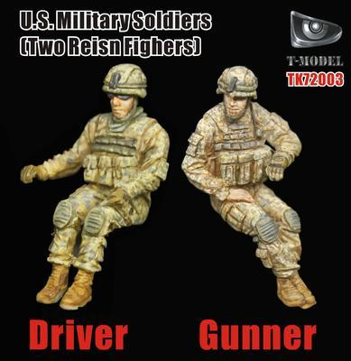 U.S. Military Soldiers (Two Resin Fighters)