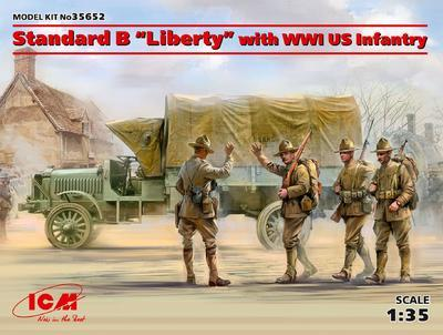 "Standard B ""Liberty"" with WWI US Infantry - 1"