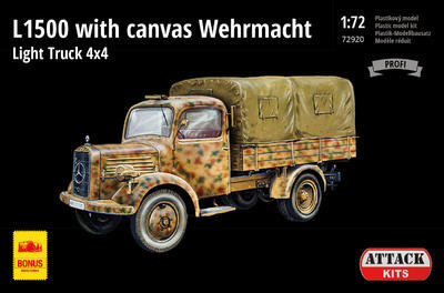 L1500 with canvas Wehrmacht Light Truck 4x4 - 1