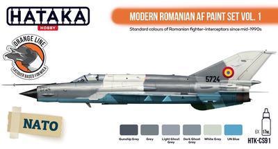 Modern Romanian AF Paint Set, sada barev - 1