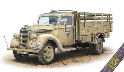 G917T German 3t Cargo truck (metal cab)