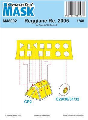 Reggiane Re.2005 Mask
