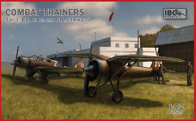 COMBAT TRAINERS 2 in 1: PZL P.11a and PZL.23A Karas