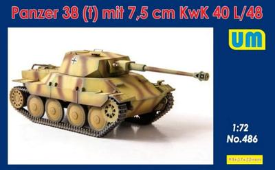 Panzer 38 (t) mit 7,5 cm KwK 40 L/48