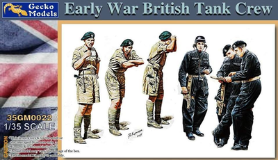 Early War British Tank Crew