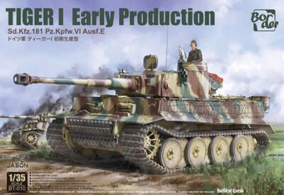 Tiger I Early Production, Sd.Kfz.181 Pz.Kpfw.VI Ausf.E