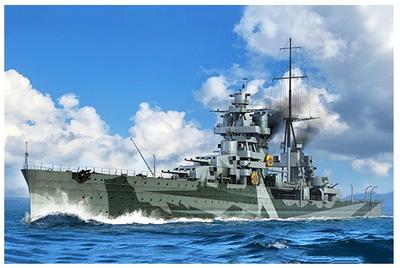 Italian Heavy Cruiser Gorizia 1:350