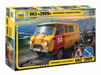 Emmergency Gas Service UAZ 3909 - 1