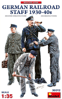 German Railroad Staff 1930´s-40´s (4fig.)