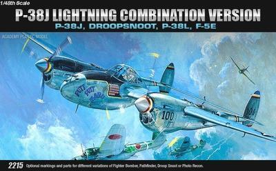 P-38J, Droopsnoot, P-38L, F-5E