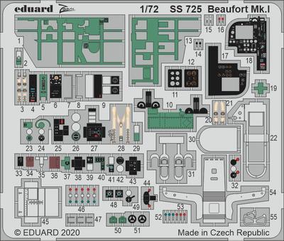 Beaufort Mk. I 1/72  lept