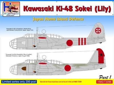 Kawasaki Ki-48 - Japan Home Island Defence part 1 - 1