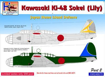 Kawasaki Ki-48 - Japan Home Island Defence part 3 - 1