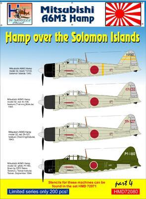 Mitsubishi A6M3 Hamp over the Salomon Islands part 4 - 1