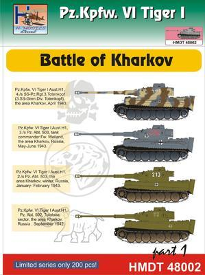 Pz. Kpfw. VI Tiger I - Battle of Kharkov - 1