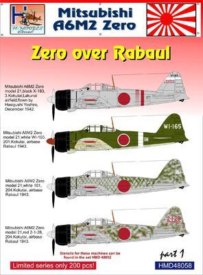Mitsubishi A6M2 over Rabaul part1 - 1