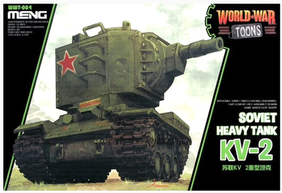 Sovitet Heavy Tank KV-2 - World War Toons
