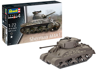Sherman M4A1 (1:72)