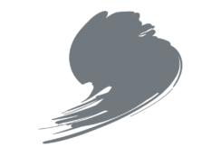 B044 Dark Gull Grey 10ML Blue Line