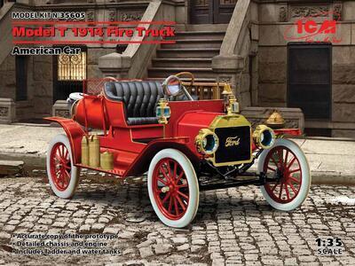 Model T 1914 Fire Truck, American Car  - 1
