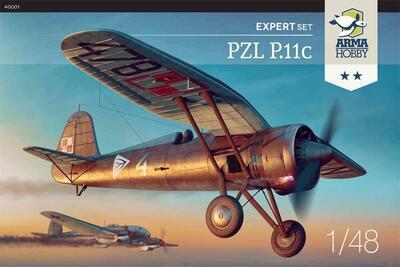 PZL P.11c Expert Set 1/48 - 1